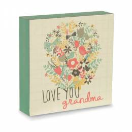 Pavillion Gift Co. Love You Grandma Plaque