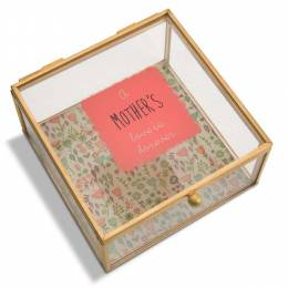 Pavillion Gift Co. Mother Glass Keepsake Box