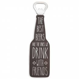Pavilion Gift Co. The Best Beers Bottle Opener Magnet