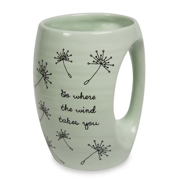 Pavilion Gift Co. Where the Wind Takes You Mug