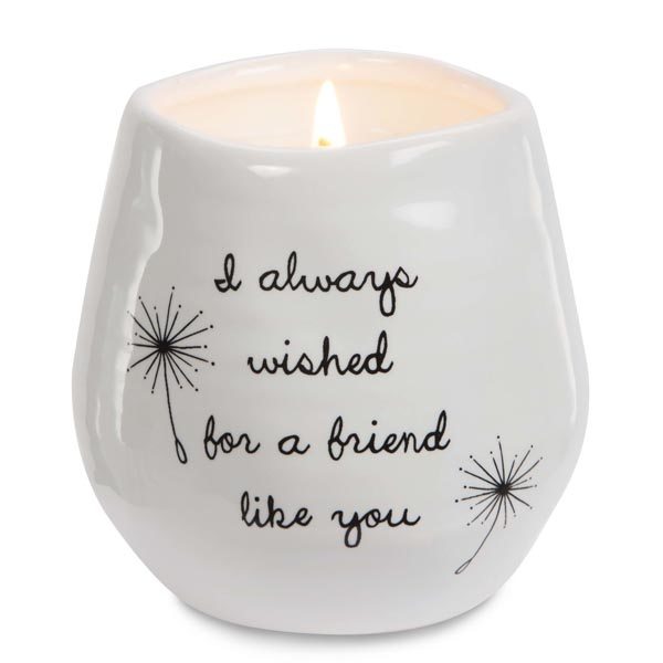 Pavilion Gift Co. Wished for a Friend Like You Soy-Filled Candle