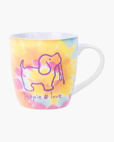 Tie-Dye Pup Ceramic Mug by Puppie Love
