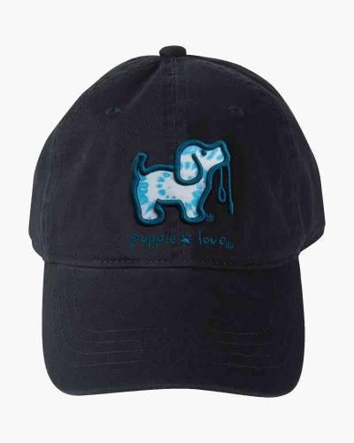 Blue Tie Dye Pup Cap