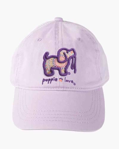 Purple Boho Pup Cap
