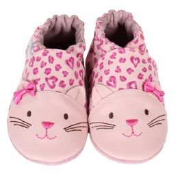 Robeez 3D Kitty Soft Soles Infant Shoes