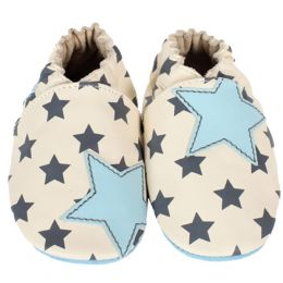 Robeez Modern Star Soft Soles Infant Shoes