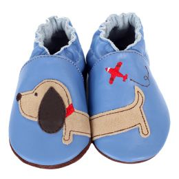 Robeez Dachshund Soft Soles Infant Shoes
