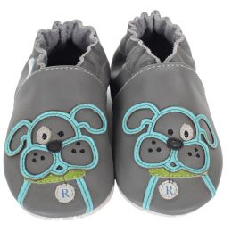 Robeez Bulldog Soft Soles Infant Shoes