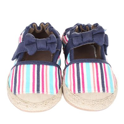 Colorful Espadrille Soft Soles Infant Shoes