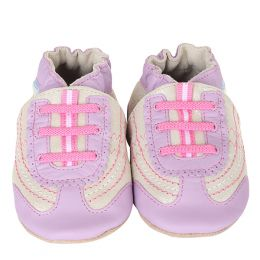 Robeez On the Run Sparkle Soft Soles Infant Shoes