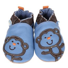 Robeez Funky Monkey Soft Soles Infant Shoes