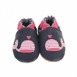 Robeez Robeez Whale Soft Soles