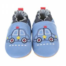Robeez Blue Police Hero Soft Soles