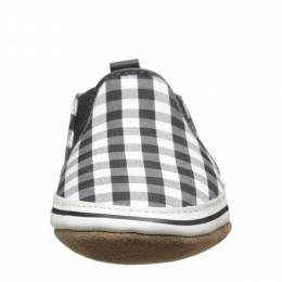 Robeez Black and White Liam Soft Soles Infant Shoes