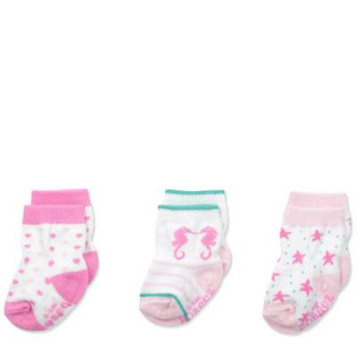 Seaside Baby Socks (3 Pack)
