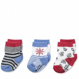 Robeez At the Helm Baby Socks (3 Pack)