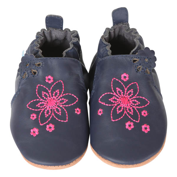 Robeez Flowerbomb Soft Soles Infant Shoes