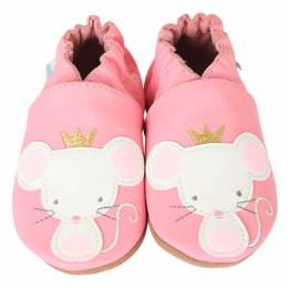 Robeez Princess Mouse Soft Soles Infant Shoes