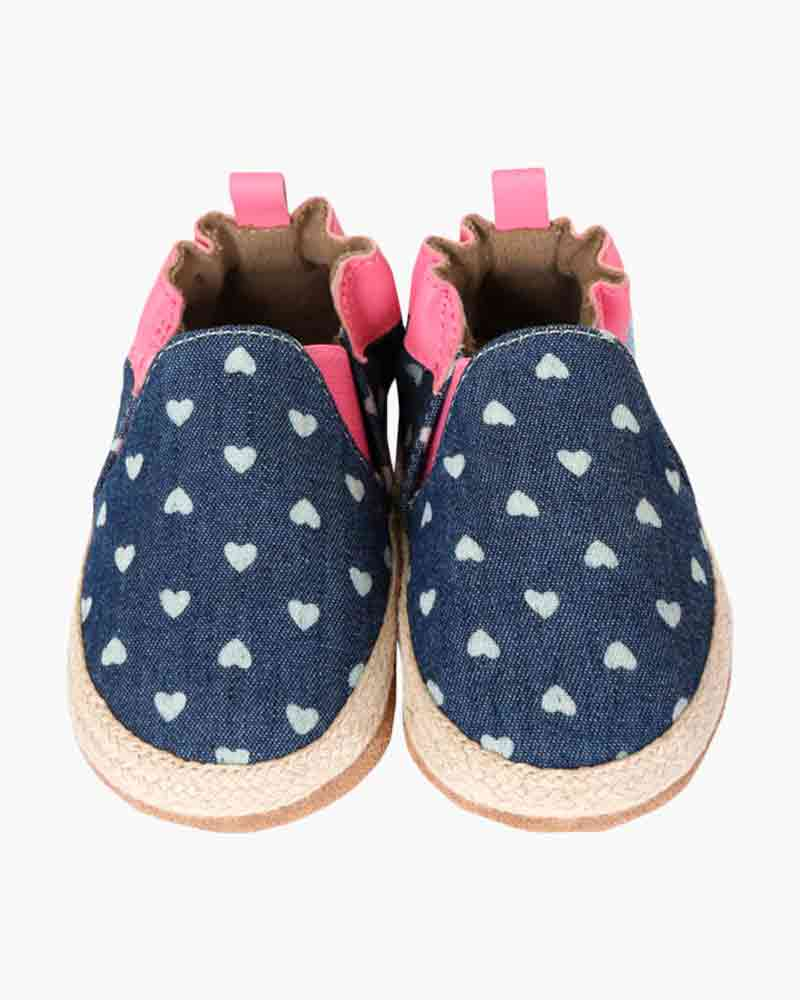 Robeez Heart Mania Soft Soles Infant Shoes