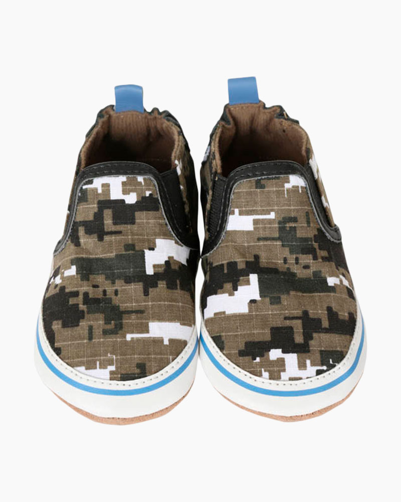 Robeez Digital Camo Soft Soles Infant Shoes