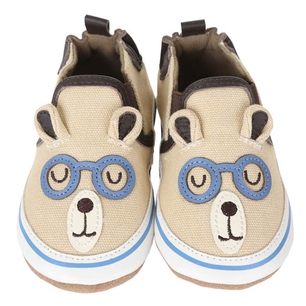 Robeez Brainy Bear Soft Soles Infant Shoes