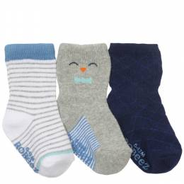 Robeez Little Penguin Baby Socks (3 Pack)