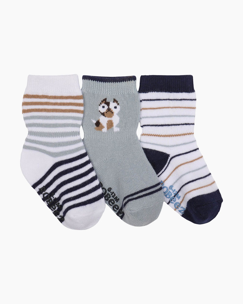 Robeez Pup Life Baby Socks (3 pack)