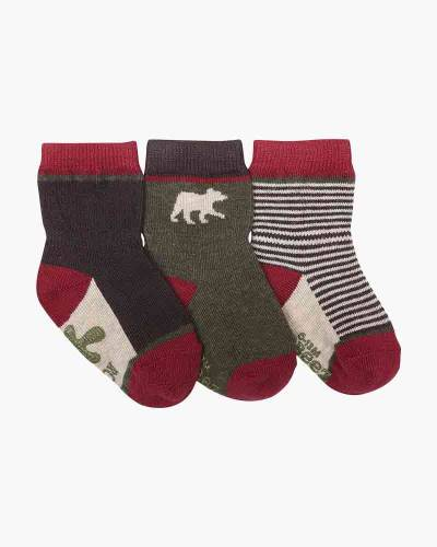 Forest Dweller Baby Socks (3-Pack)