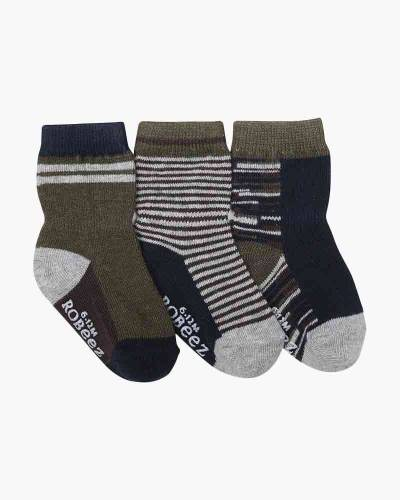 Athletic Heather Baby Socks (3-Pack)