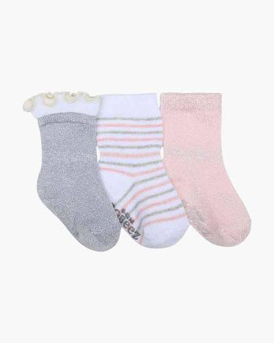 Stripes and Dots Baby Socks (3-Pack)