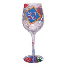 Lolita Twenty-One Wine Glass