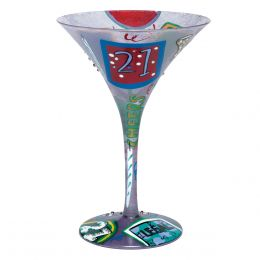 Lolita 21 Martini Glass
