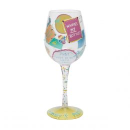 Lolita New Mommy Wine Glass