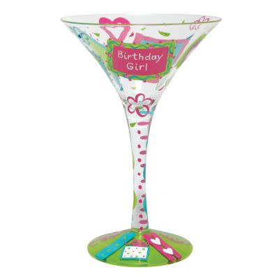 Birthday Girl, Too Martini Glass