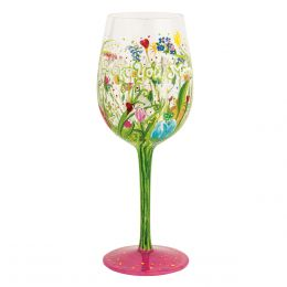 Lolita Love You Mom Wine Glass