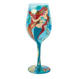 Lolita Mermaid Wine Glass