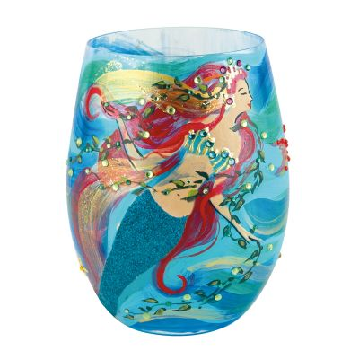 Mermaid Stemless Wine Glass