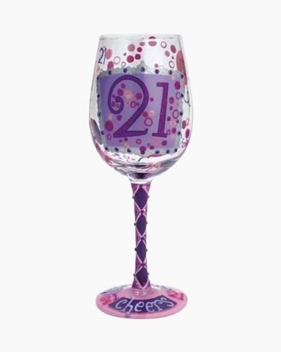 21 Wine Glass