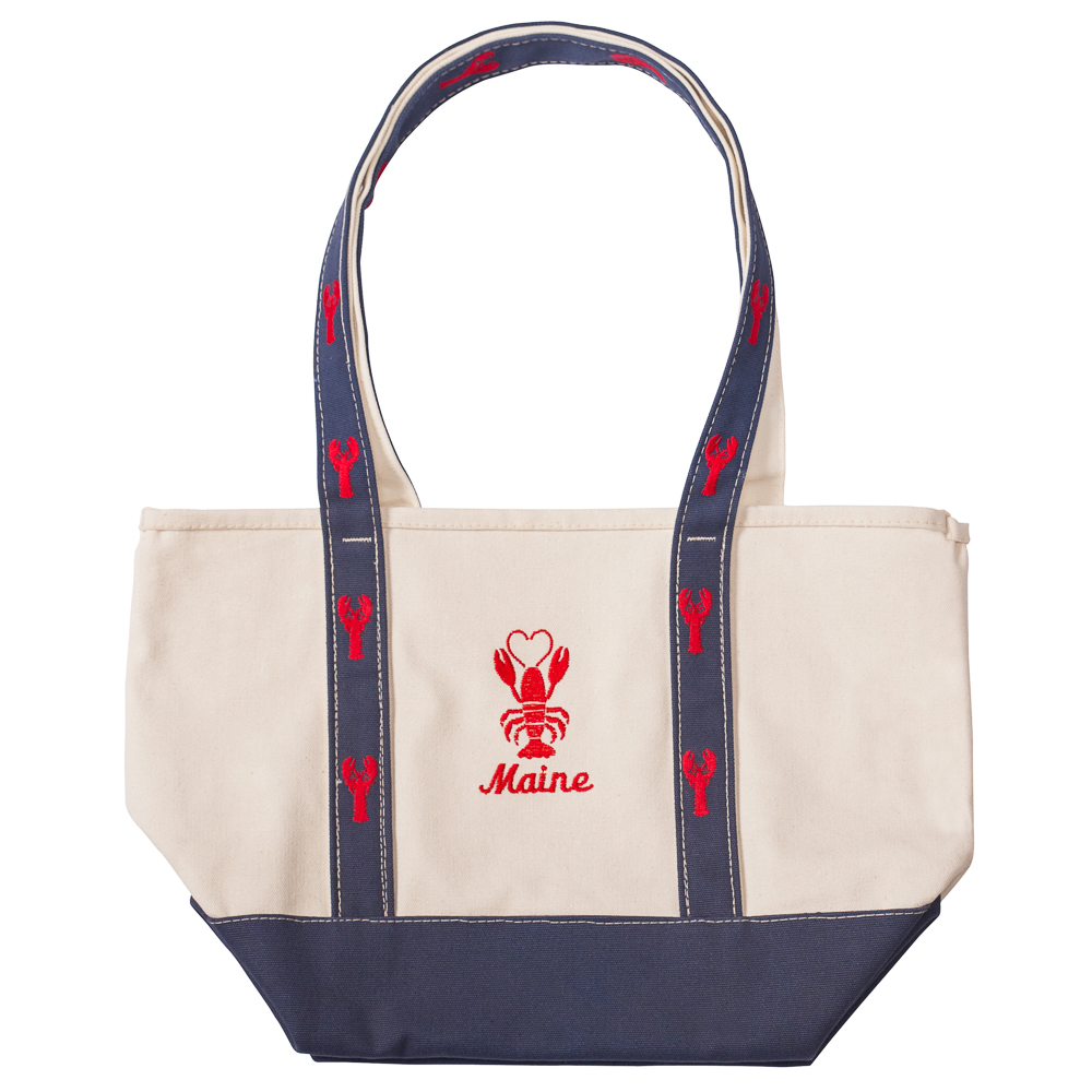 Soft as a Grape Maine Lobster Canvas Tote