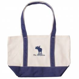 Soft as a Grape New Hampshire Moose Canvas Tote