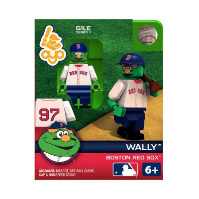 Wally the Green Monster Boston Red Sox OYO Minifigure
