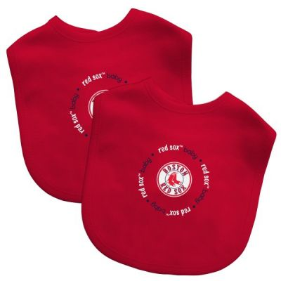 Boston Red Sox Bib Set (2-Pack)