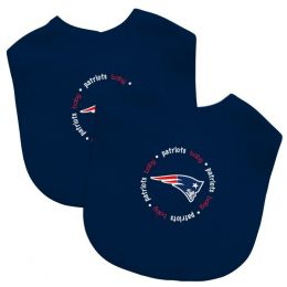 Sports Images New England Patriots Bib Set (2-Pack)