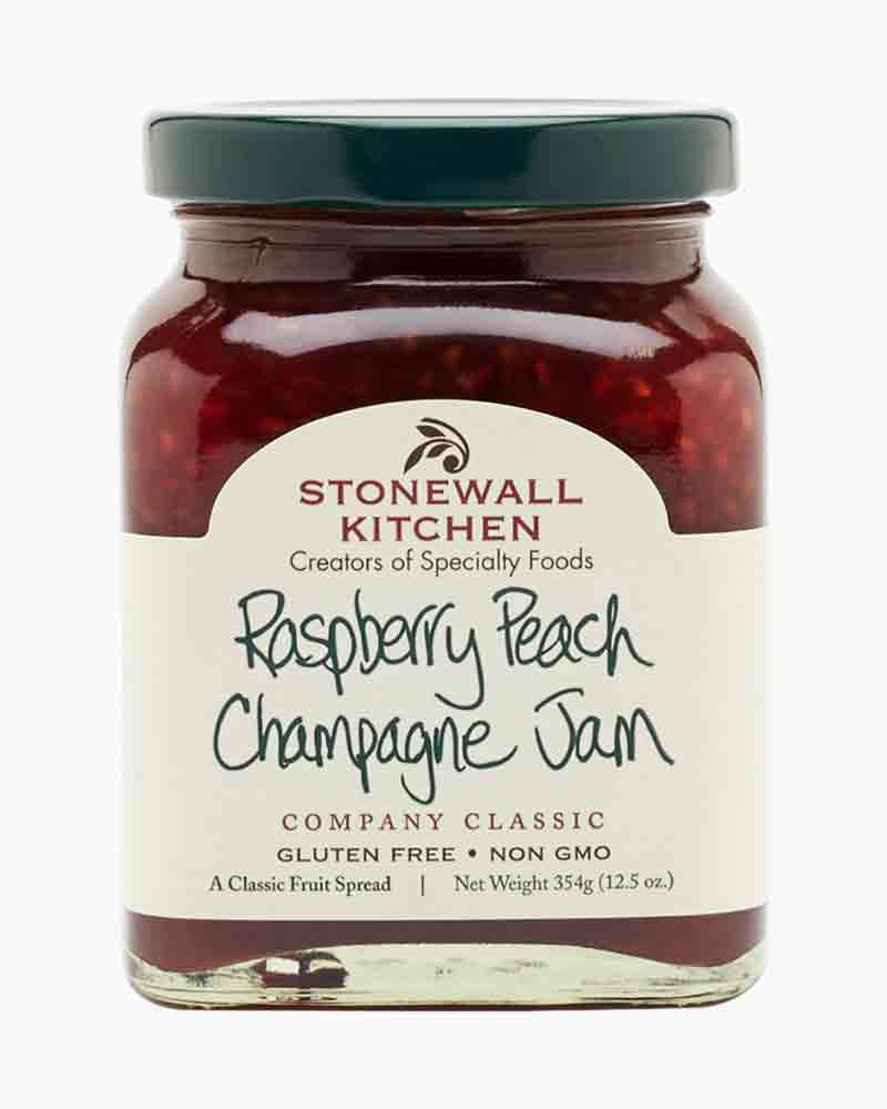 Stonewall Kitchen 12.5 oz. Raspberry Peach Champagne Jam
