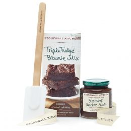 Stonewall Kitchen Triple Fudge Brownie Grab and Go Set