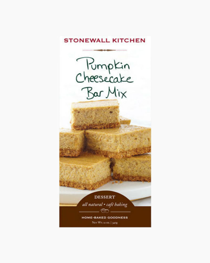 Stonewall Kitchen Pumpkin Cheesecake Bar Mix