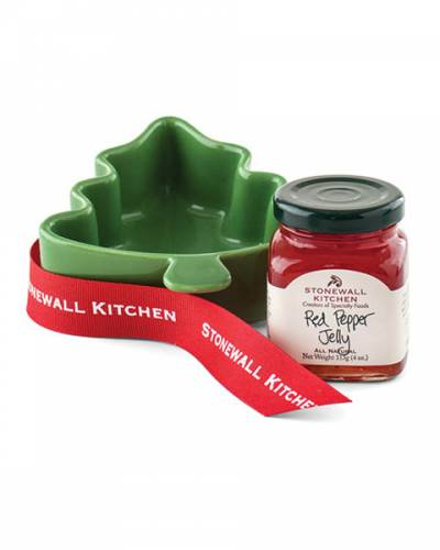 Red Pepper Jelly Tree Ramekin Gift Set