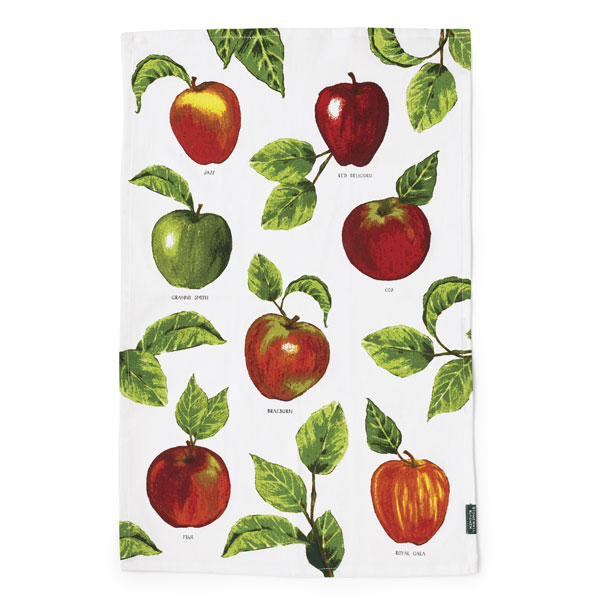 Stonewall Kitchen Apples Tea Towel