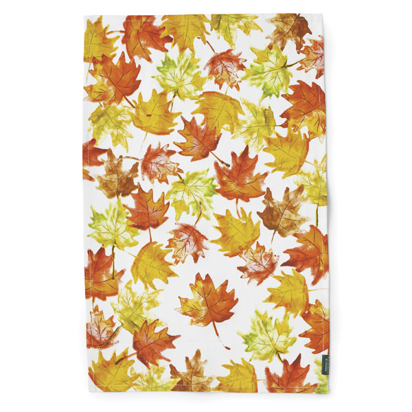 Stonewall Kitchen Fall Leaves Tea Towel