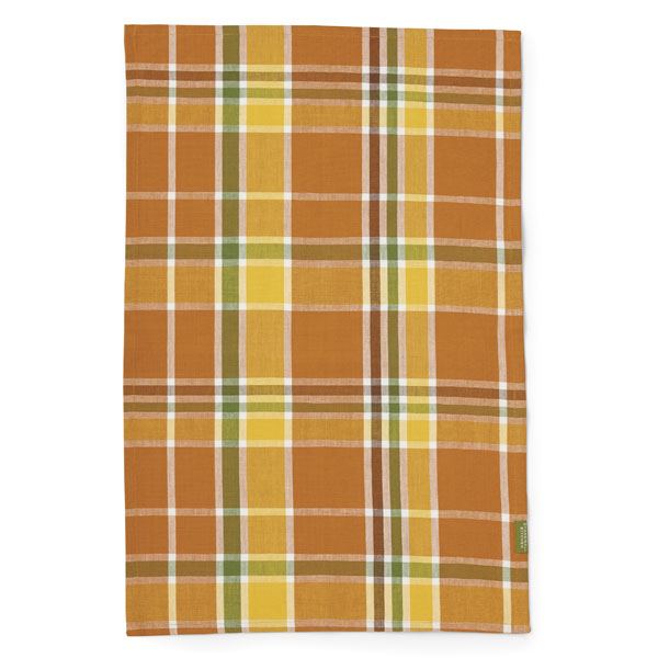Stonewall Kitchen Plaid Harvest Tea Towel